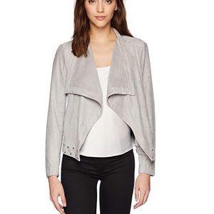 NWT BB Dakota Arly Faux Suede Gray Jacket